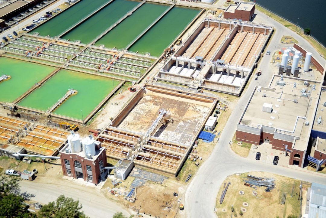 construction of water treatment plant pdf